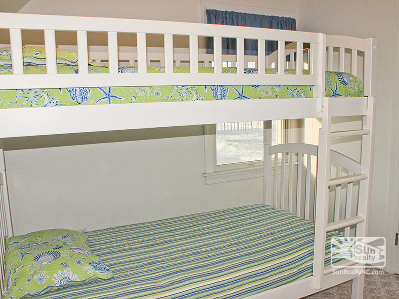 Bunk Bedroom with Ocean Views