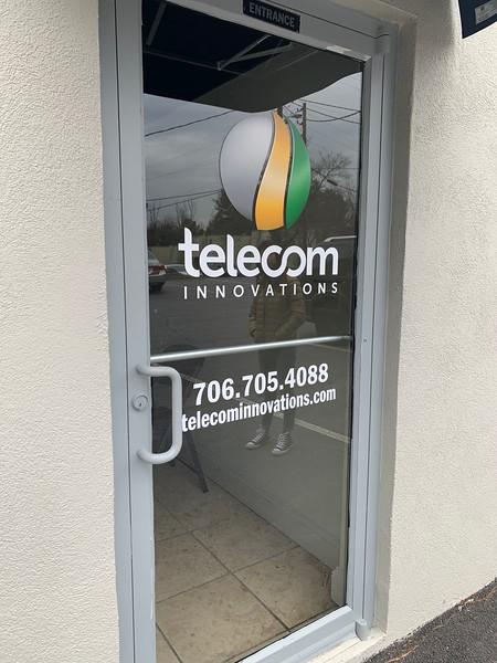 Telecom Innovations Sign Installation