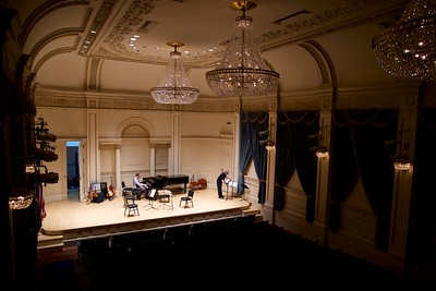Rosin and Schumann at Carnegie Hall