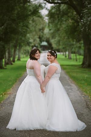 Rebecca and Hanna - Tatum Park Wedding