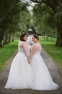 Rebecca and Hanna - Tatum Park Wedding