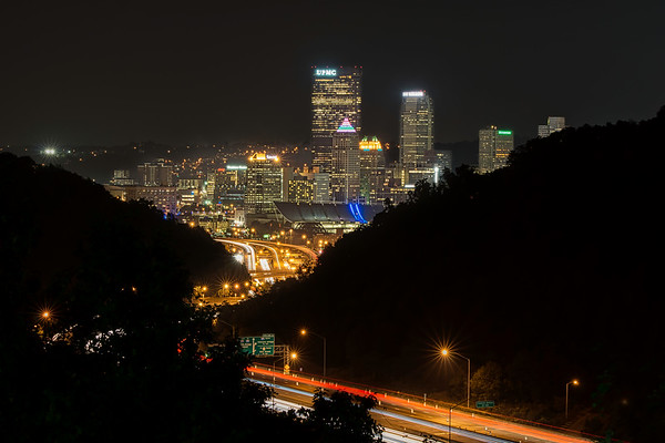 2019 Pittsburgh At Night Calendar