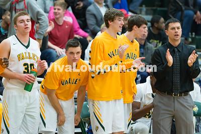 Boys Basketball: Potomac Falls vs. Loudoun Valley Varsity 1.7.16 (by Chas Sumser)