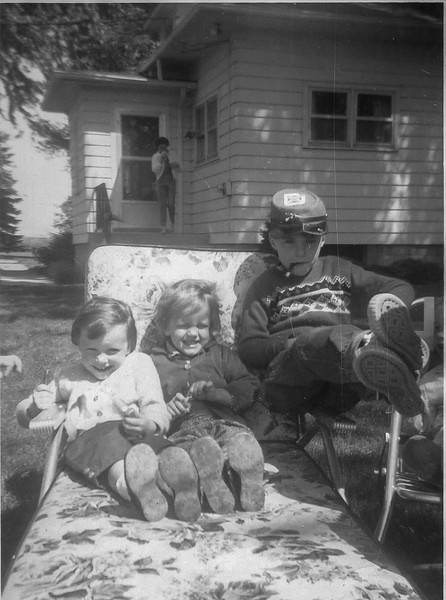 Dorothy, Kathleen and Mike 1961 Wilmot, Wisconsin