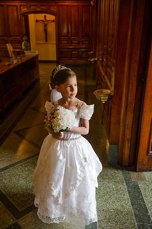Emily First Communion
