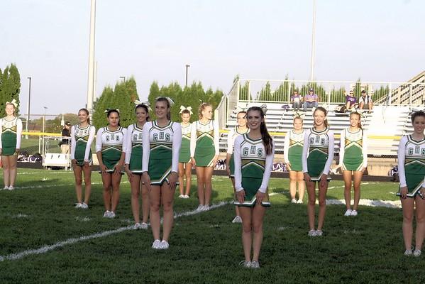 Cheerleaders Homecoming Performance