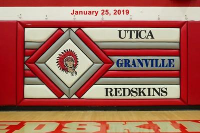 2019 VARSITY - Granville at Utica (01-25-19)