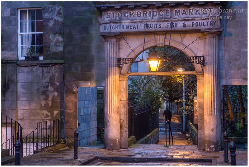 old Stockbridge Market archway, St. Stephen Place