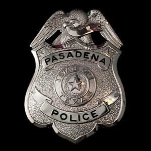 Pasadena Police Badge
