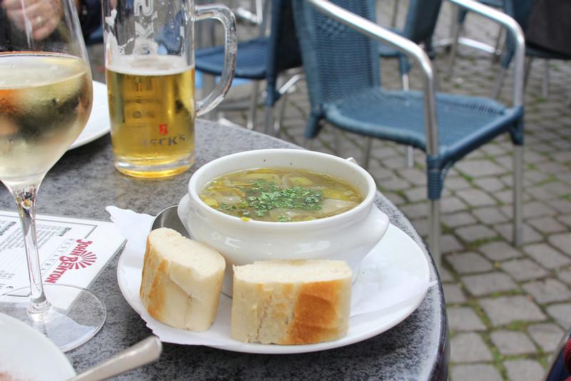 Ox tail soup