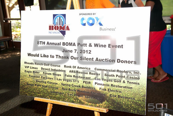 BOMA Putt and Wine 2012