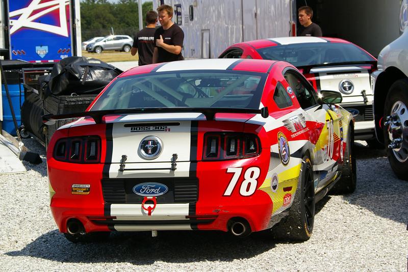 RACERS EDGE MOTORSPORTS MUSTANG BOSS 302R GT