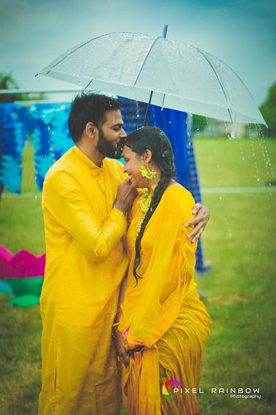 Sudheer+Anjali Haldi