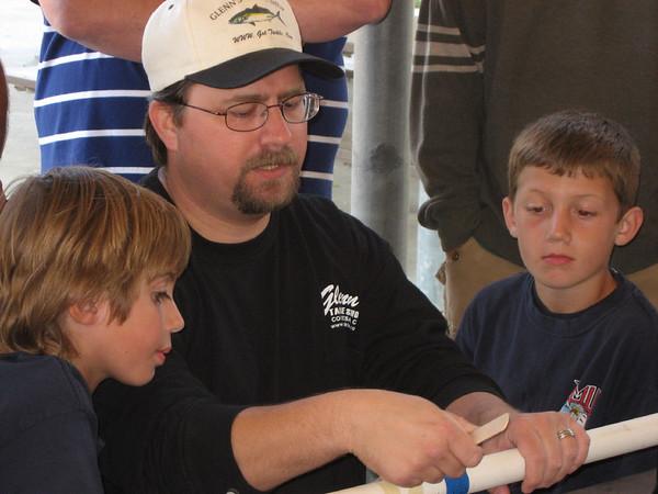 Making Fishing Rods - June 2009