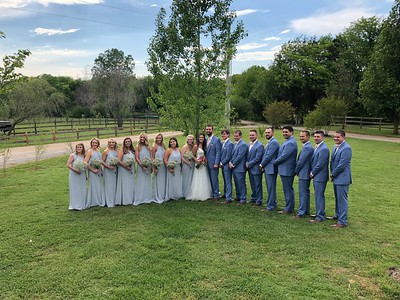 Dylan and Katelyn Wedding April 2019
