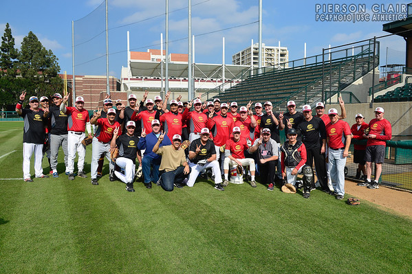 USC Baseball 2014 Alumni Game - Older