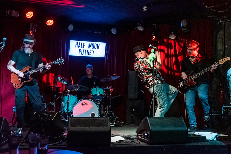 The Voodoo Sheiks at the Half Moon Putney