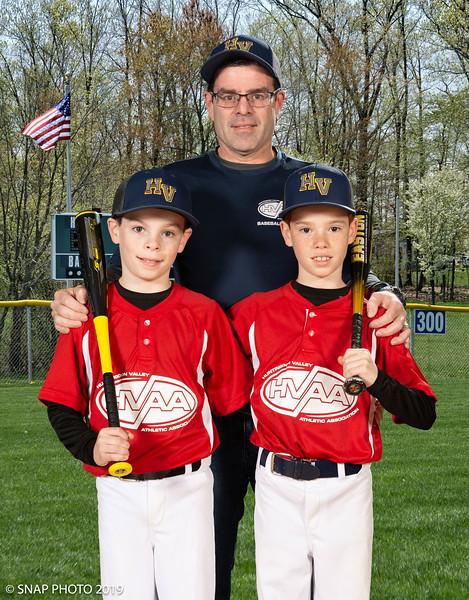 2019 HVAA Baseball & Softball Coach-Player Photos