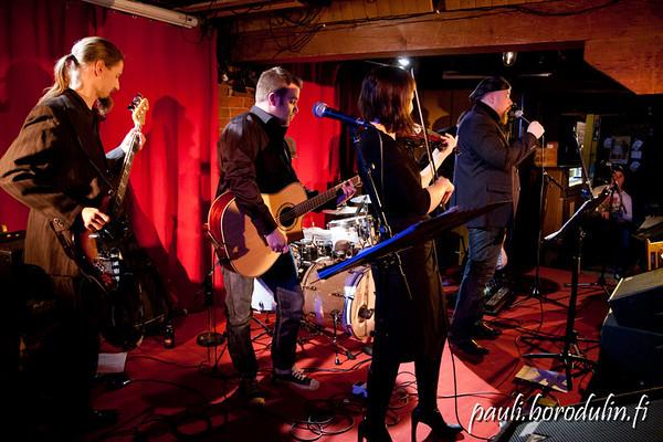 2011-11-23 Album release gig at Telakka, Tampere