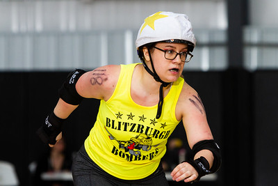 04/20/2019 Blitzburgh Bombers vs North Allegheny Roller Derby
