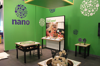 Nano mini-exhibition at NISE Net Partner Sites