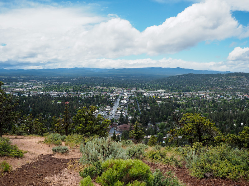 The view of Bend from Pilot Butte