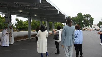 08-11-2020 Blessing of the solar panels video
