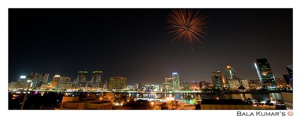 Dubai Shopping Festival 2013 Fireworks
