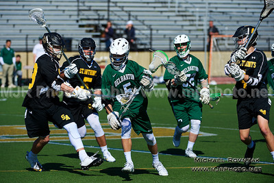Lacrosse, Boys JV, #5 Delbarton  vs  St Anthonys 2015-04-11