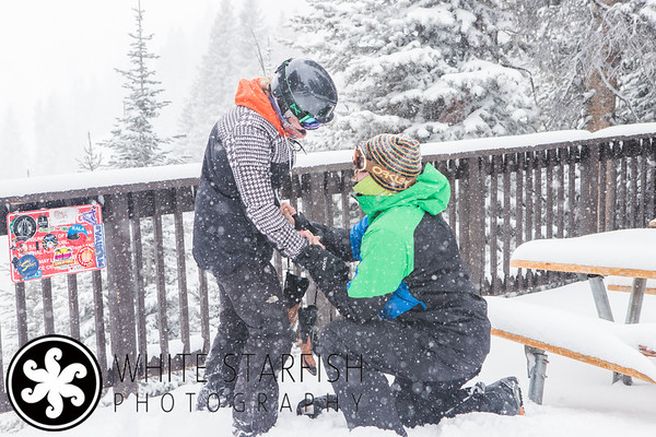 Vail Marriage Proposal - Windows Deck - Teddy and E