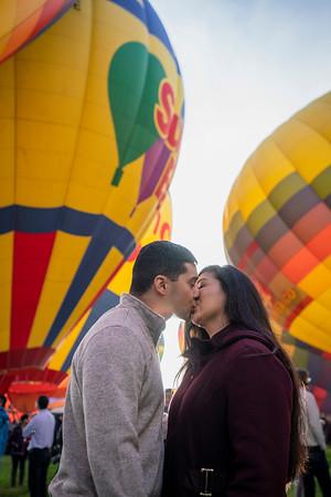 Albuquerque International Hot Air Balloon Fiesta Engagement Session