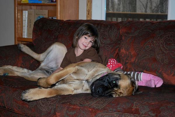 Shiloh and Tallulah - Dec 2010