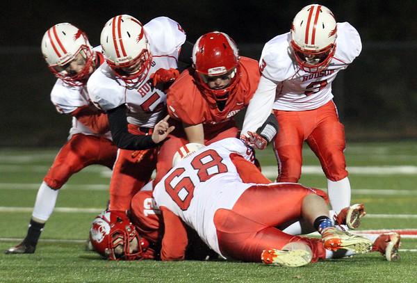 Tyngsboro vs Hudson football 102618