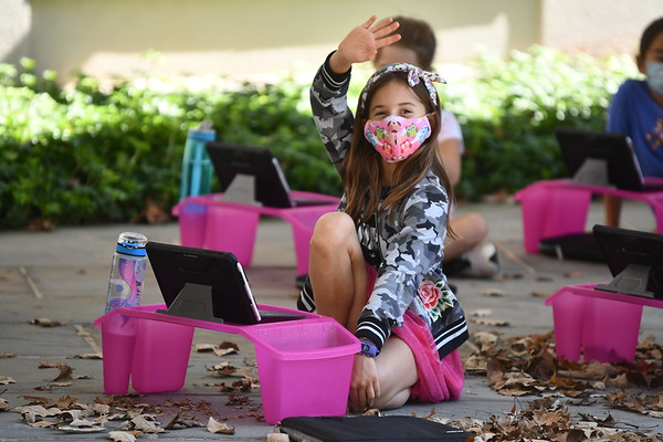 Outdoor On-Campus Classes for Third and Fourth Graders