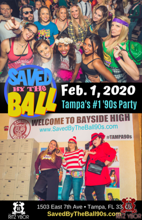 Saved By The Ball 2020: Tampa's Biggest '90s Party