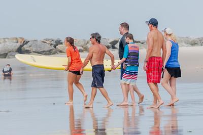 Noah Surfing Long Beach July 2018