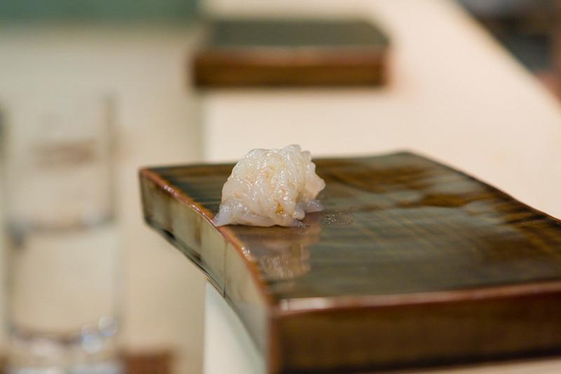 Course #10: Sushi Sushi #6: Shira Ebi (White Shrimp)