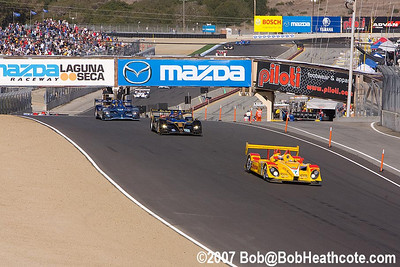 2007 American Le Mans Series Laguna Seca Saturday