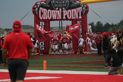 FOOTBALL Crown Point VS Merrillville 2021