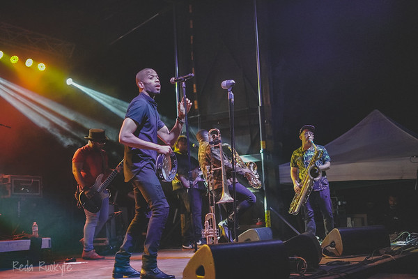 Bonfire Block Party in Eagle, Summer  2019