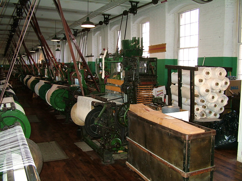 Weave Room - Boott Cotton Mill - Lowell, MA