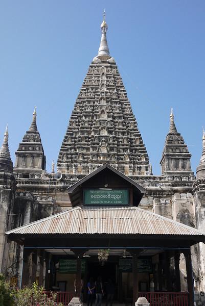 Mahabodhi Temple in Bagan, Burma (Myanmar)