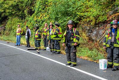 10-9-17 MVA With injuries, Bear Mountain Bridge Road, Photos By Bob Rimm