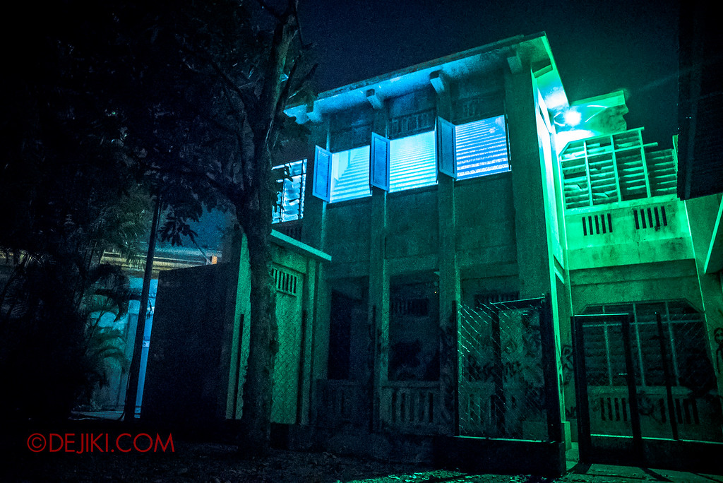Halloween Horror Nights 6 - Old Changi Hospital / The Hospital Facade creepy