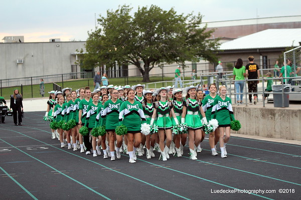Burnet Homecoming Before KickOff