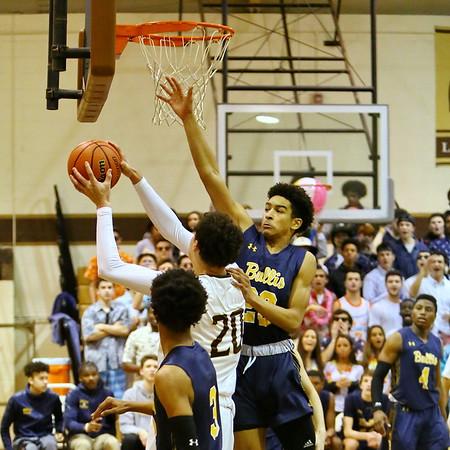 20190209 Boys Varsity Basketball Bullis at Landon