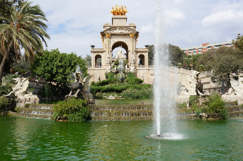An amazing fountain inside the Parc de la Ciutadella that is said to have been influenced by Gaudi when he was a young art student.