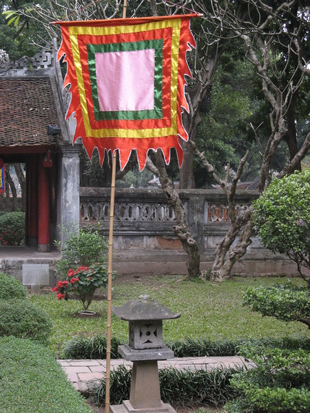 Another scene at the Temple of Literature.