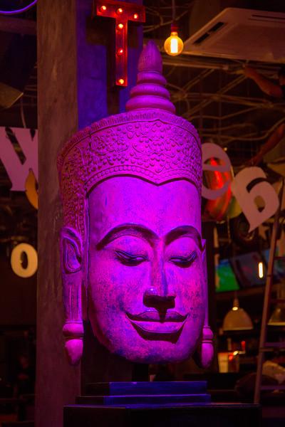 Siem Reap City, Cambodia - December, 2017