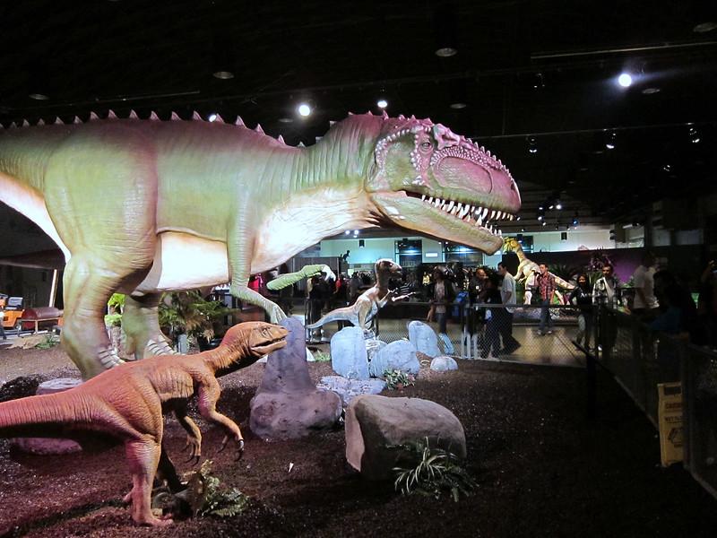 Cool Jurassic Park exhibit!